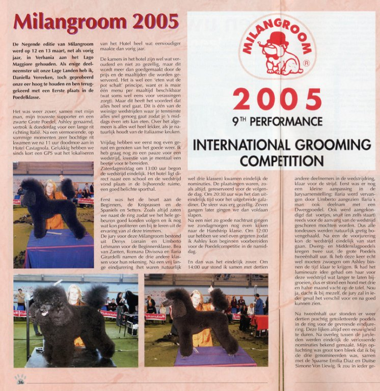 Groomers - Milangroom 2005
